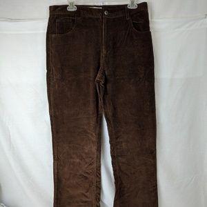 Dress Barn Corduroy Brown pants